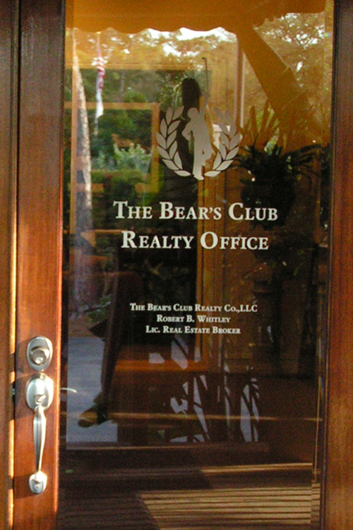 Bear's Club Realty