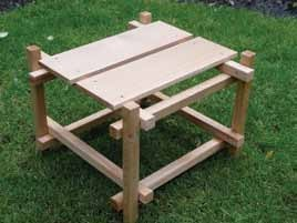 Build a Wave Hill Table or Stool
