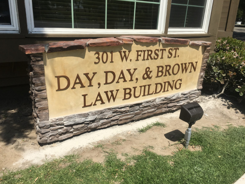 Day, Day & Brown - Aluminum 3D Lettering