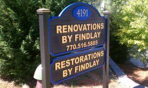 HDU Findlay Sign