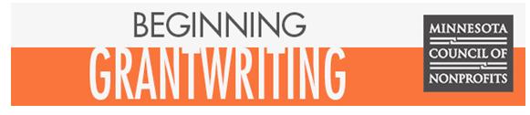 Beginner Grant Writing