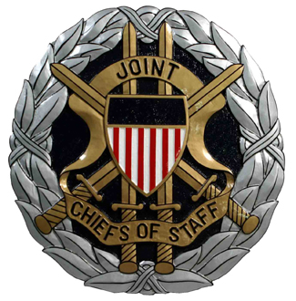 V31129 - DoD Joint Chiefs of Staff Seal Carved Wall Plaque