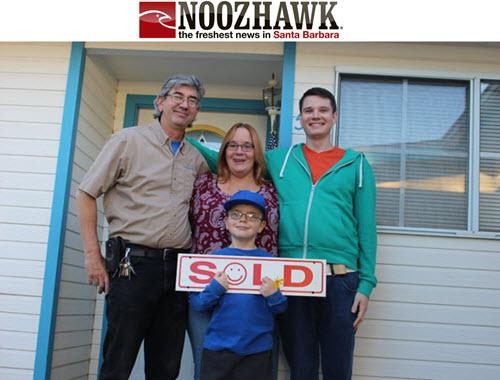 Three Lompoc Families Find 'There's No Place Like Home for Holidays'