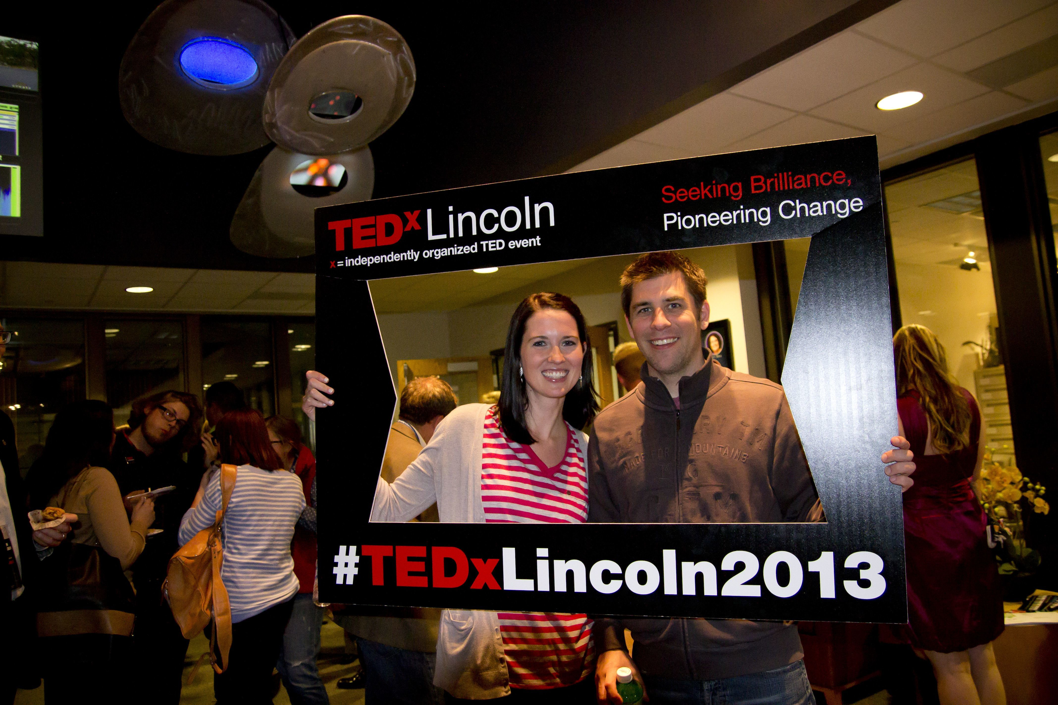 Clint! spoke at TEDxLincoln