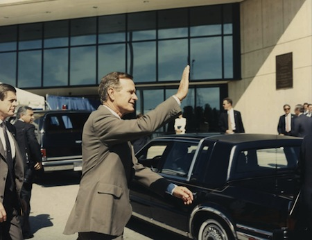 1991: President George H. W. Bush Visited NSA