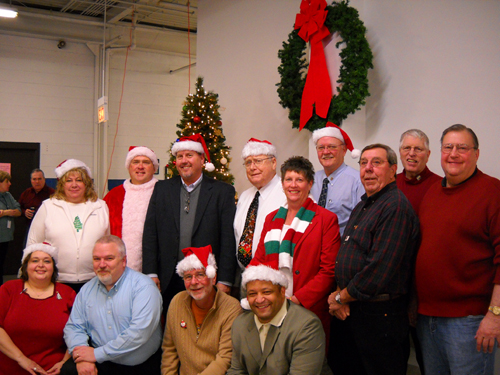 Oak Lawn Rotary spreads holiday cheer at Park Lawn's Workshop
