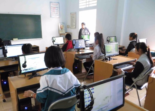 Computer Lab at Hai Lai Secondary School