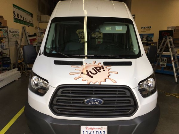 Van Decals from a 3M Preferred Graphics Installer in Orange County CA