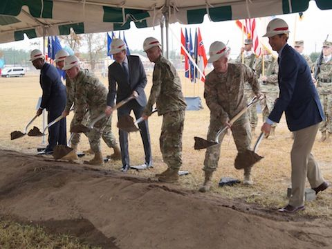 Breaking Ground for New Army Cyber Command at Fort Gordon, Georgia