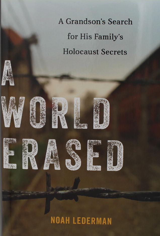 A World Erased: A Grandson's Search for His Family's Holocaust Secrets (Hardback   USA Shipping)