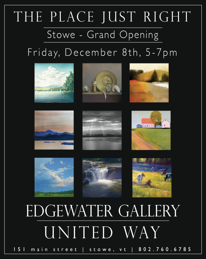 Grand Opening Edgewater Gallery in Stowe