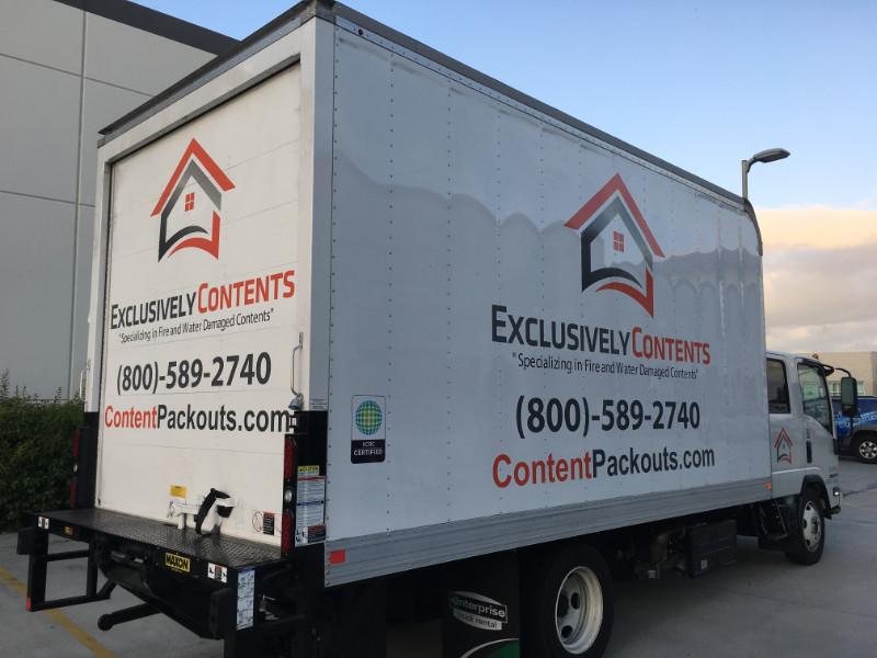 Vinyl Graphics for Box Trucks in Orange County