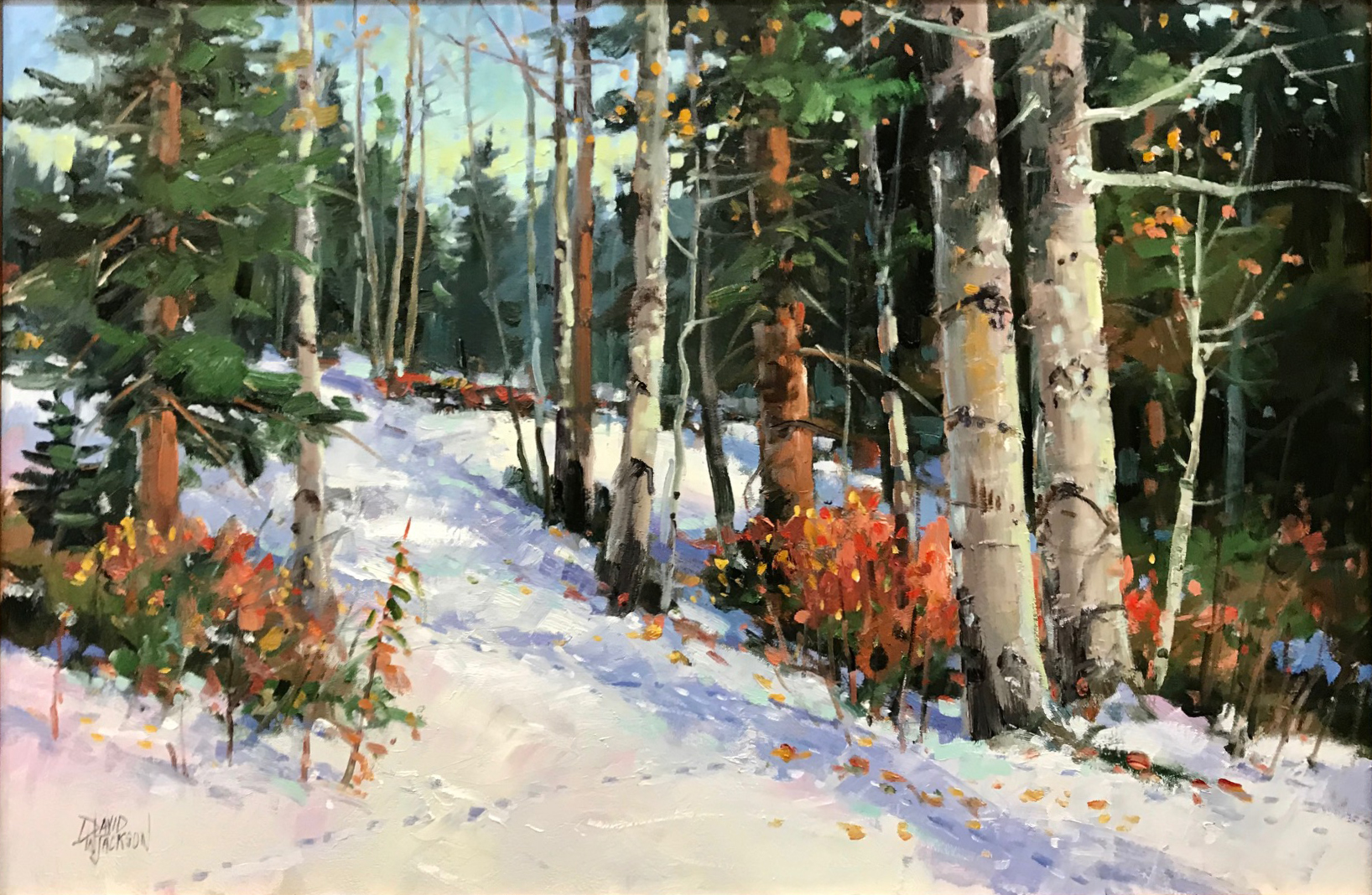 Treasures of Winter by David Jackson