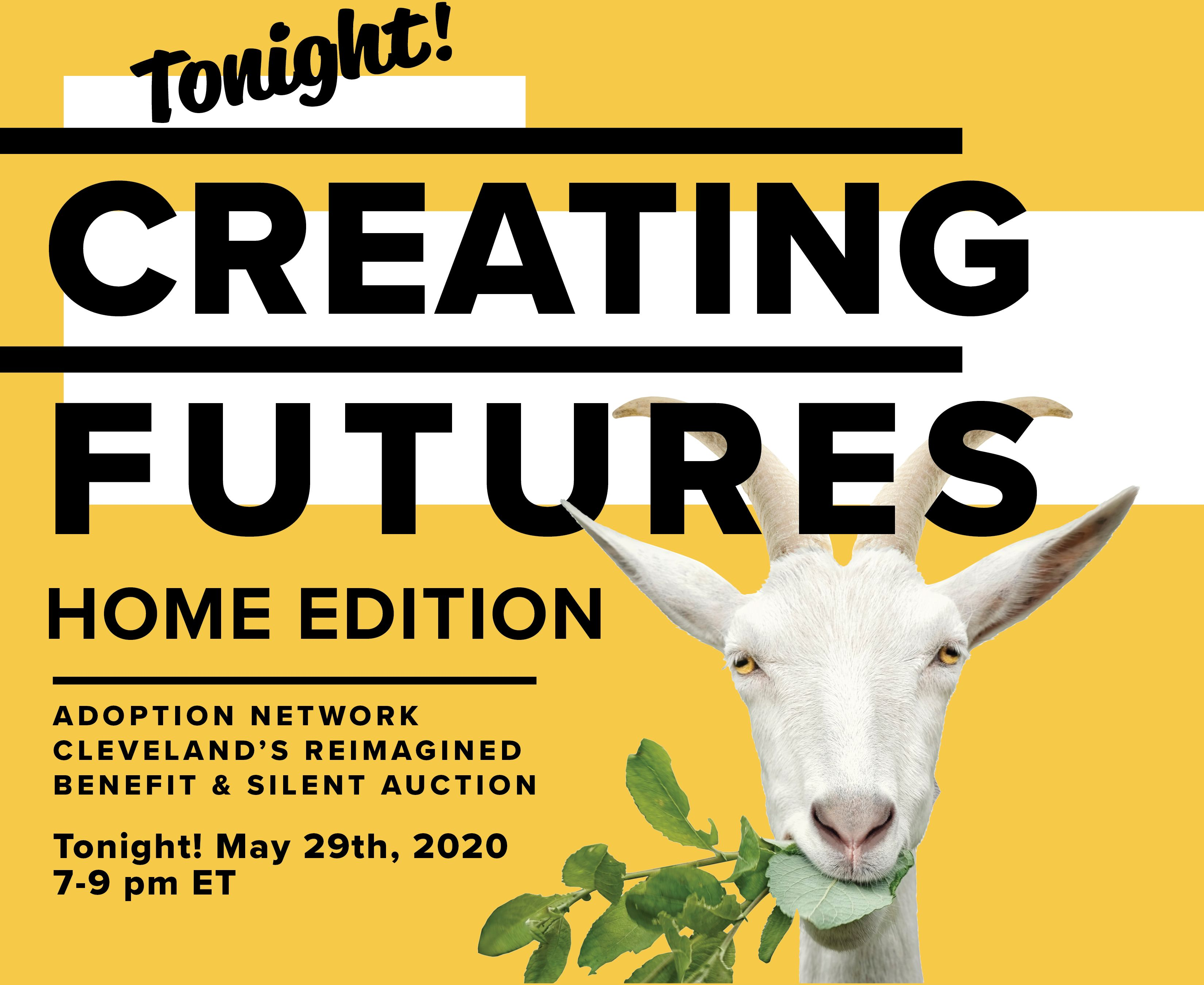 Creating Futures: Home Edition is Tonight!