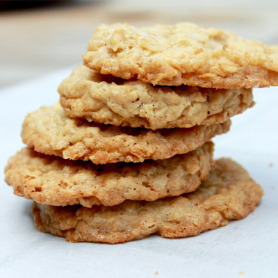 Salted Peanut Cookies