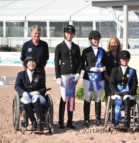 Yay USA won the first of two Paralympic qualifiers!