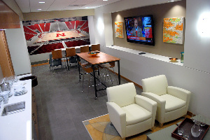 Pinnacle Bank Arena suite