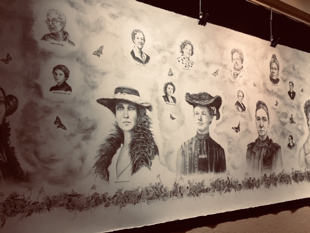 Linda Swan : Celebrating Suffrage and Other Acts of Courage