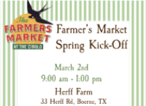 Join us on March 2nd at the Farm from 9am - 1pm