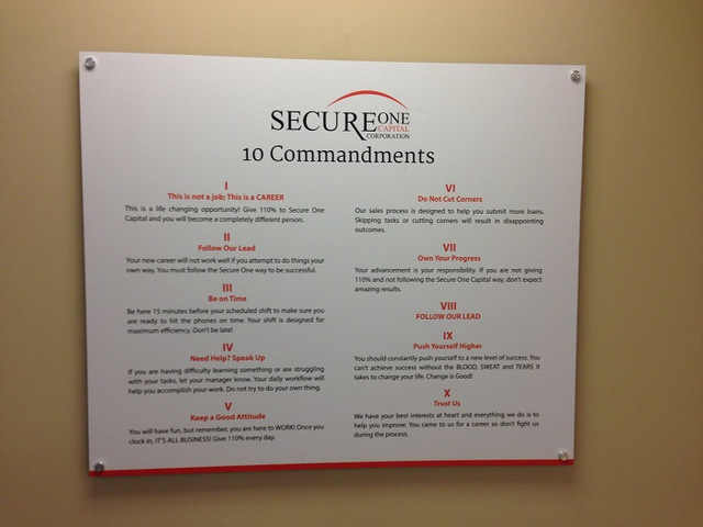 Office signs and graphics for Orange County