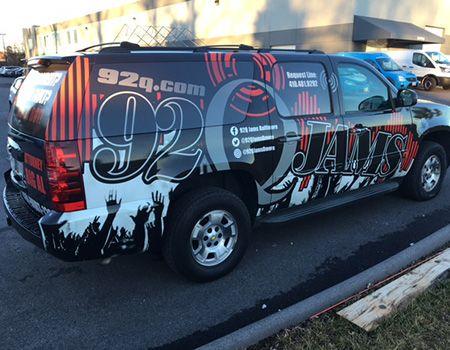 92Q Vehicle wrap