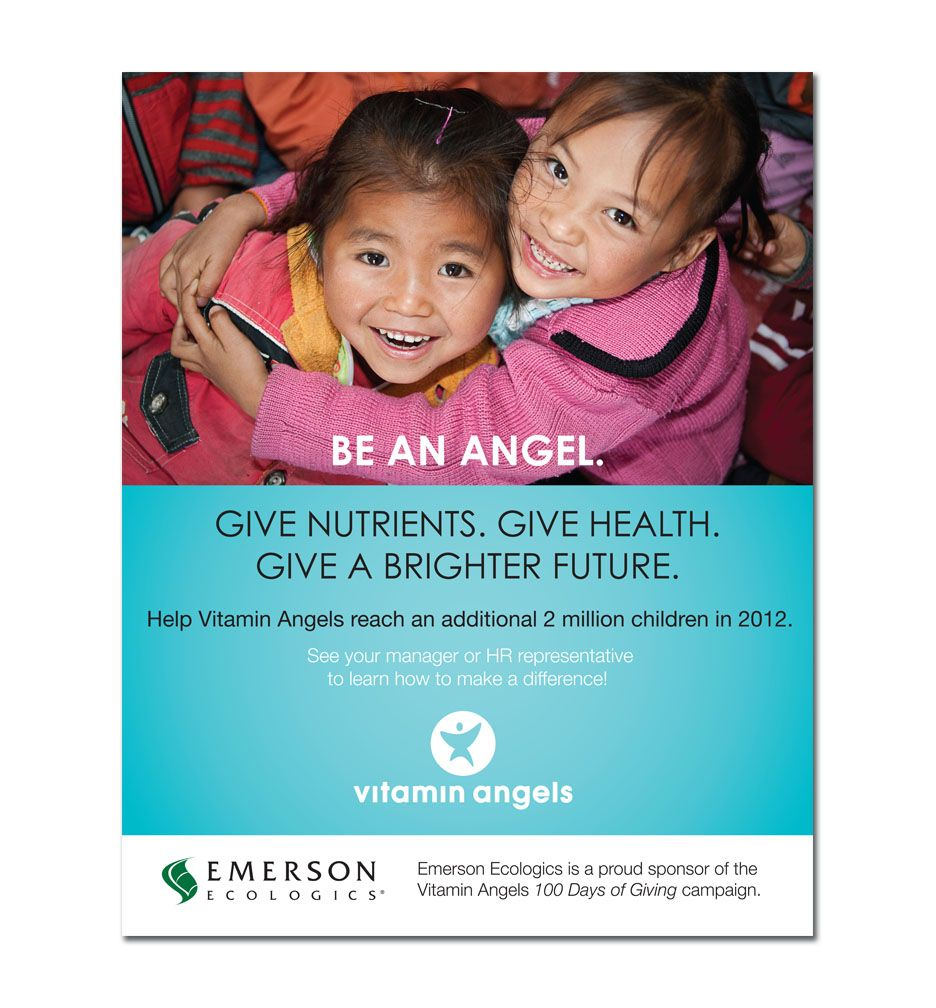 Emerson Poster - Vitamin Angels