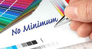 No Minimum Orders