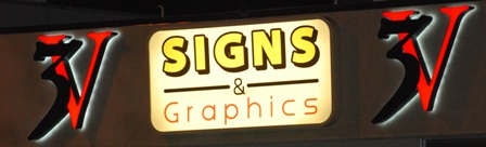 Backlit Sign