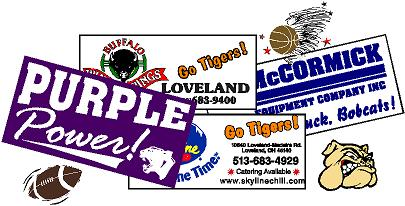 Team Spirit / Team Sports Banners