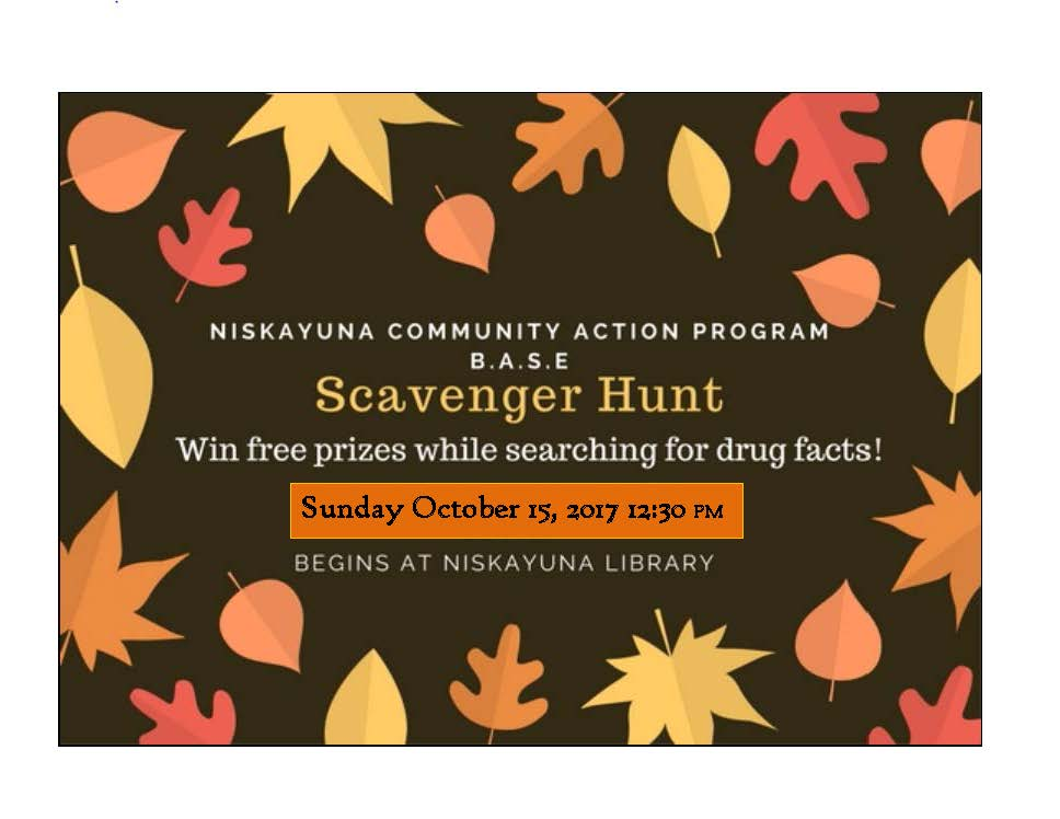 2nd Annual Student Scavenger Hunt!