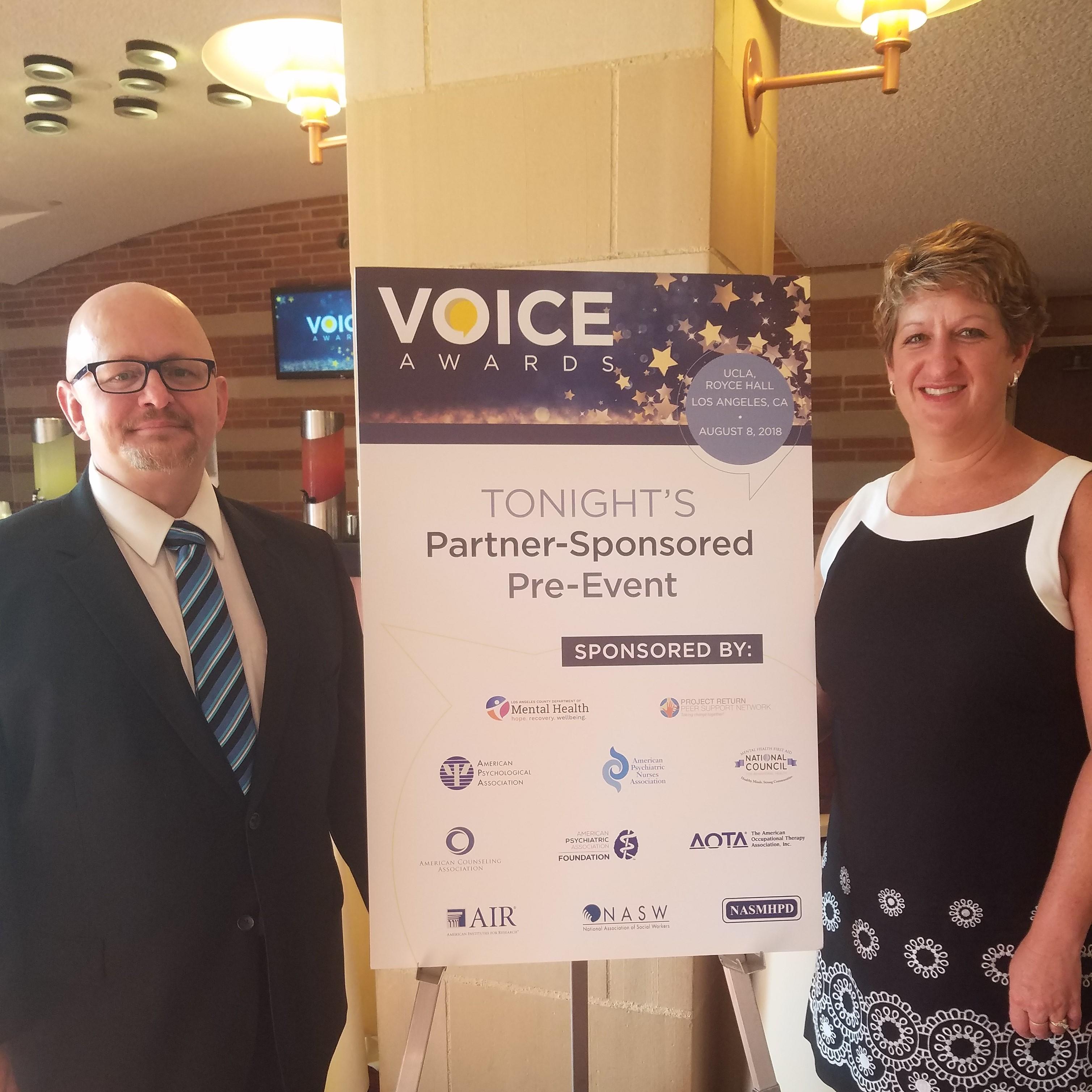 David Stoecker Wins 2018 SAMHSA Voice Awards