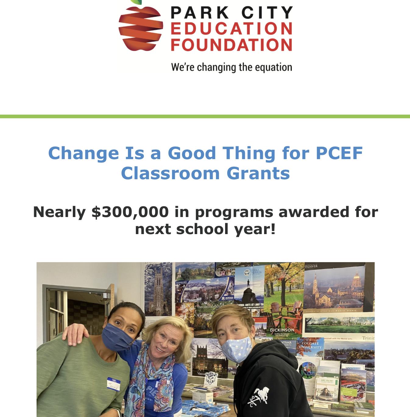 PCEF June Newsletter
