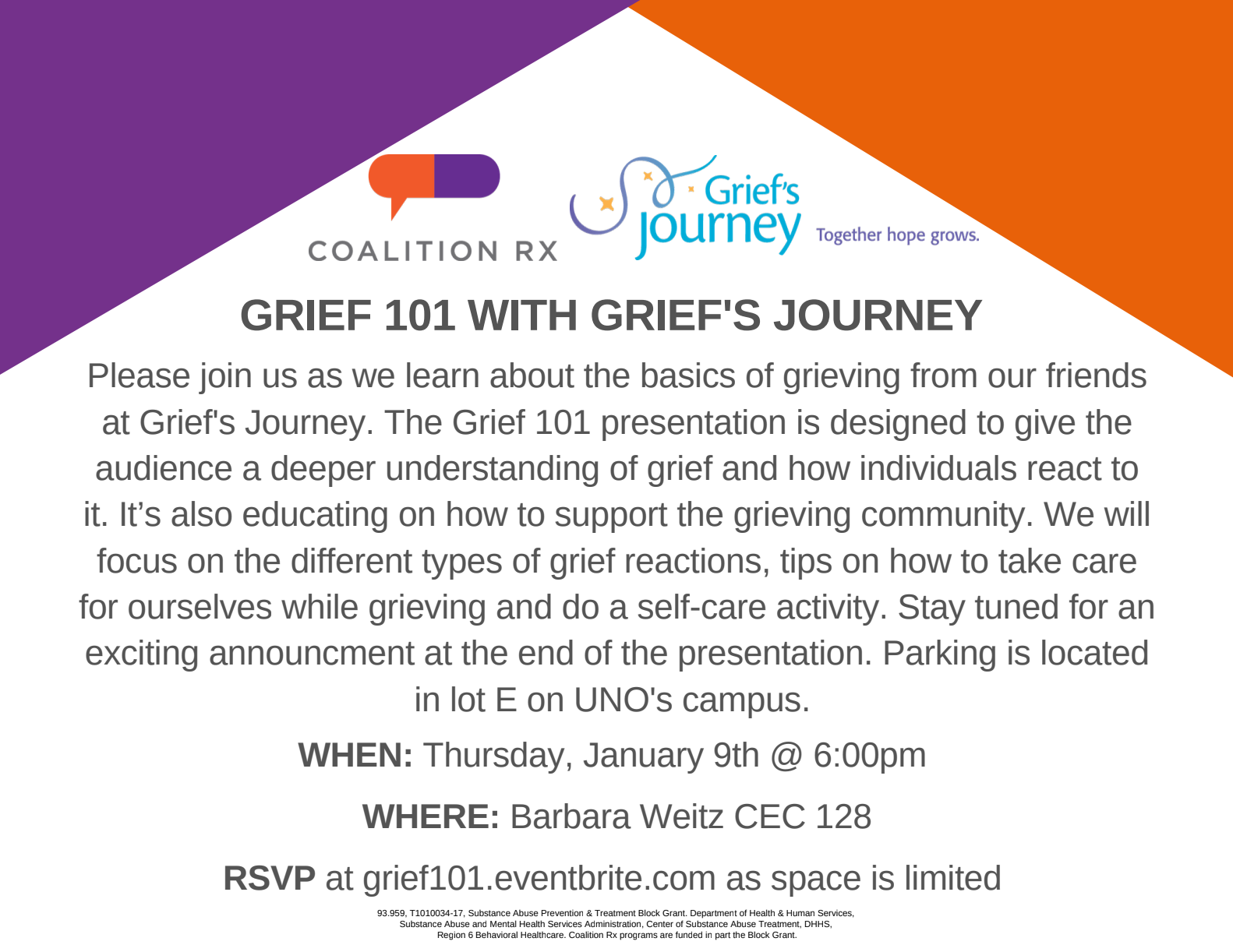 Grief 101 With Grief's Journey