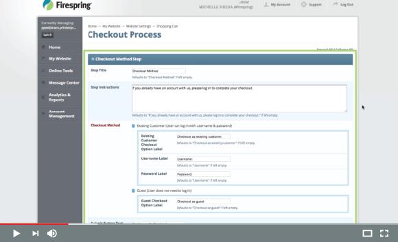 Checkout & General Configuration