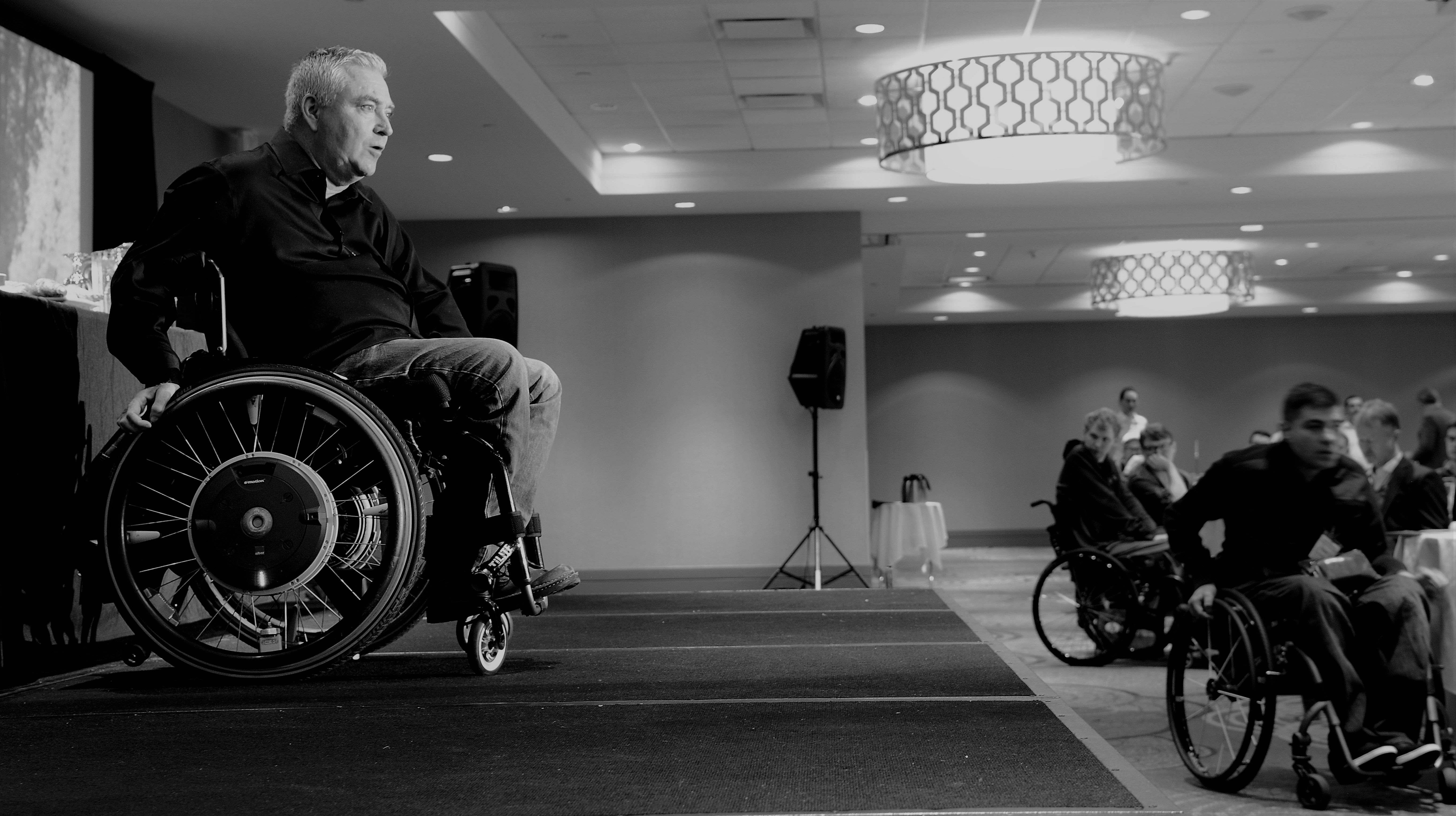 Living with Paralysis is No Stranger to Living with Risk