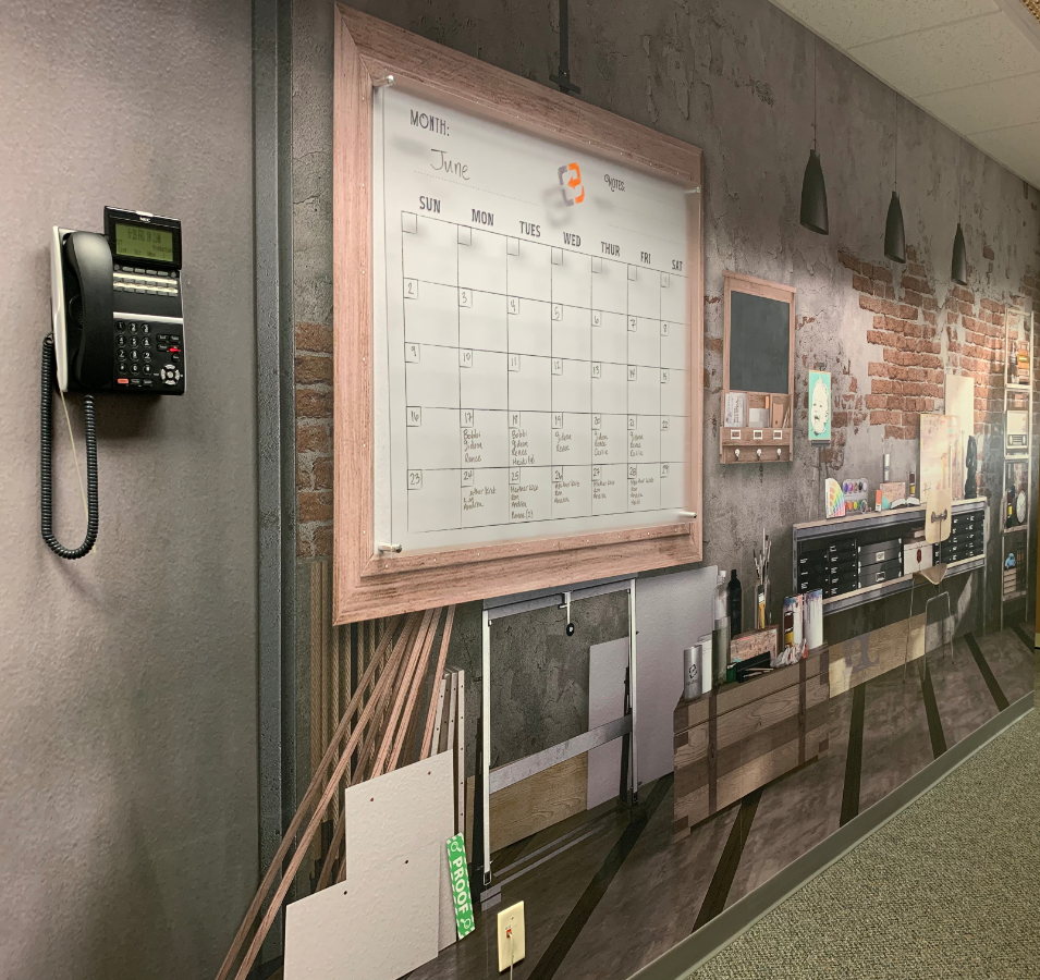 Scheduling Wall Wrap