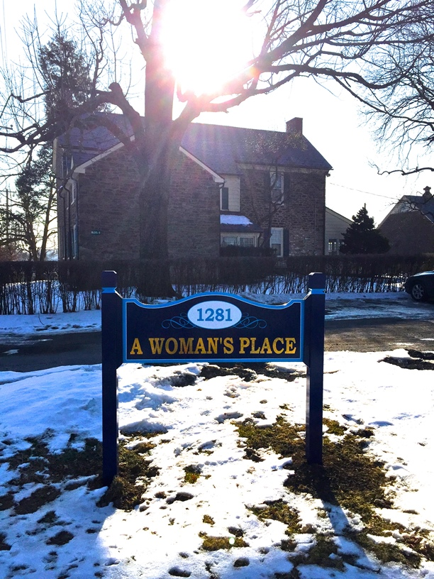 A Woman's Place administrative office.