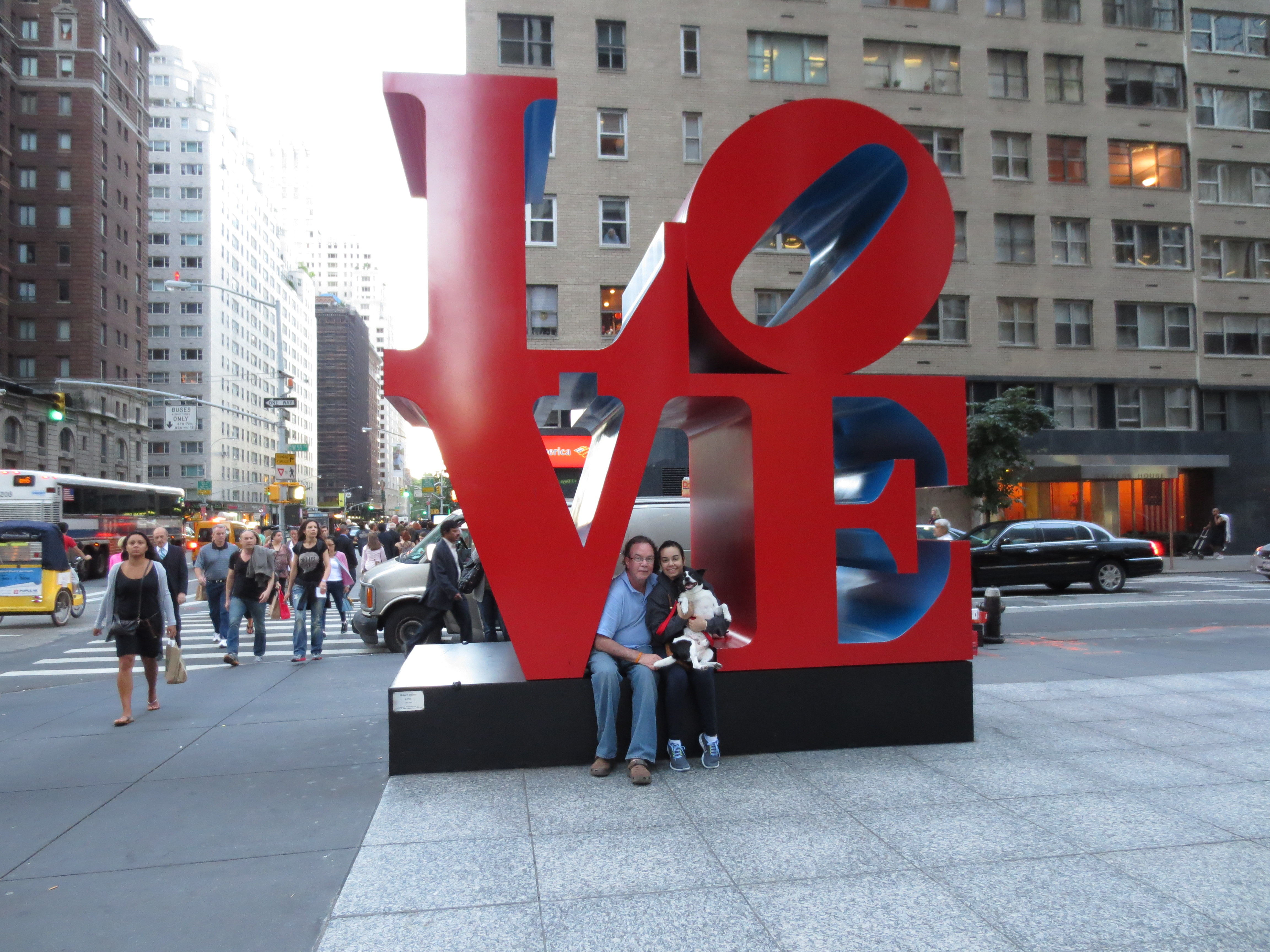 Jillian and George in NY