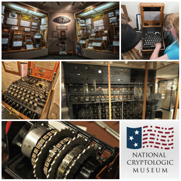 "Experience machines featured in ""The Imitation Game"" film at the National Cryptologic Museum"