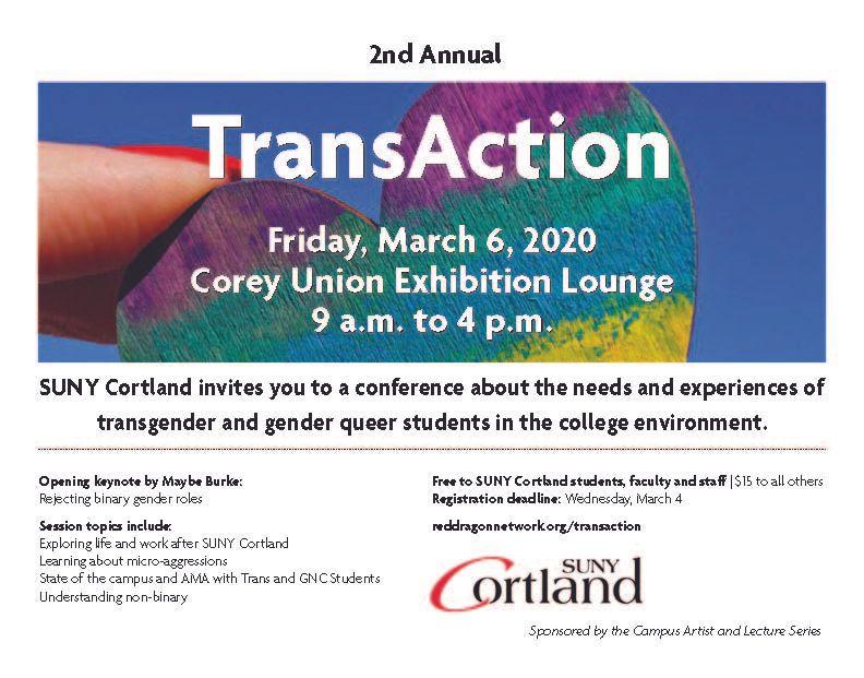 TransAction at SUNY Cortland