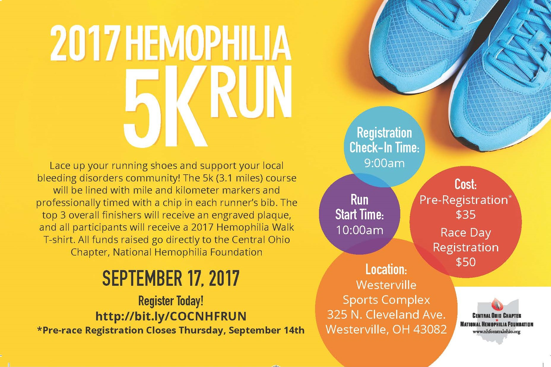 Join us at our first run