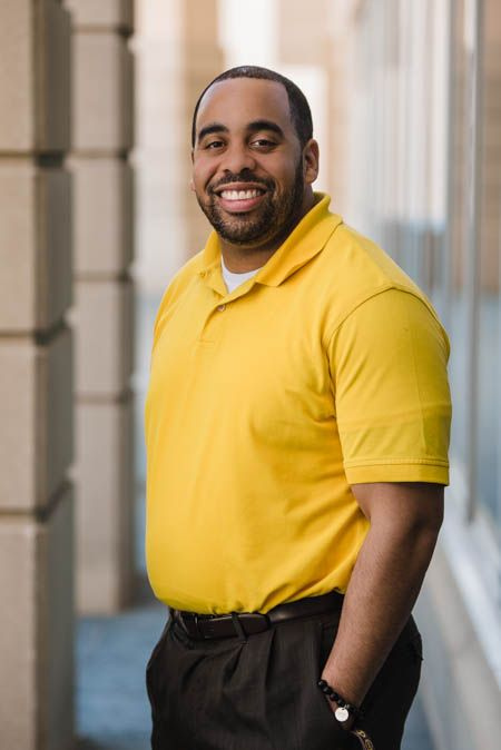 Fred Collins, Jr., Program Data Specialist