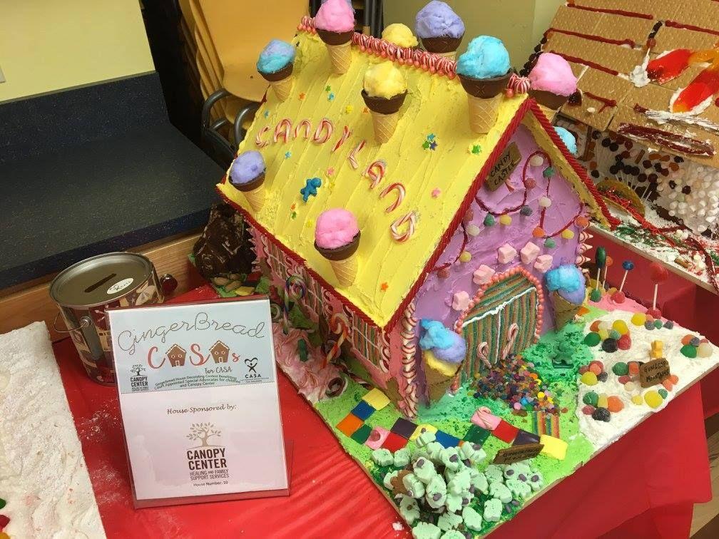 Gingerbread Casas for CASA