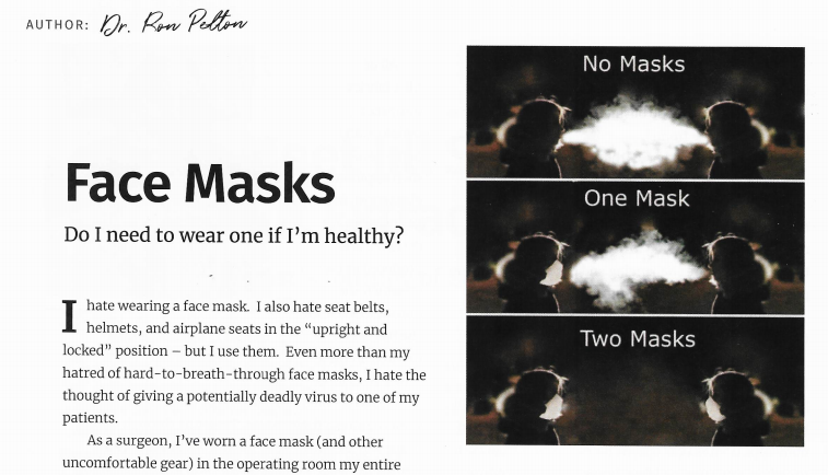 Face Masks: Do I Need To Wear One If I'm Healthy?