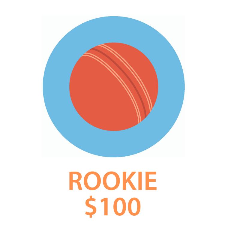 5. Rookie - $100