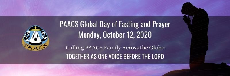 PAACS Global Day of Fasting and Prayer