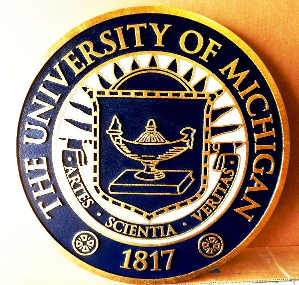 ME5190 - Seal of University of Michigan, 2.5-D