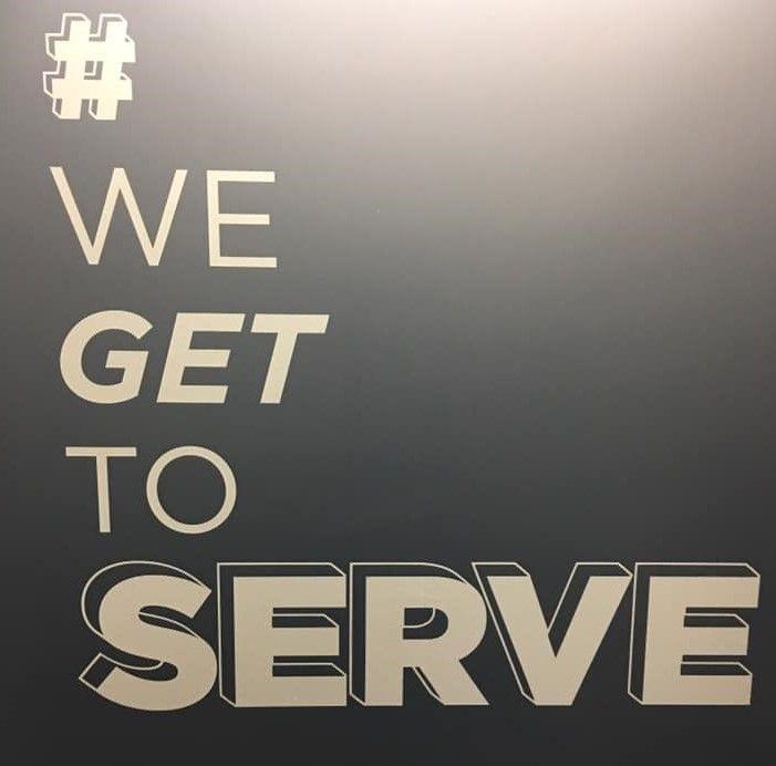 We Get To Serve