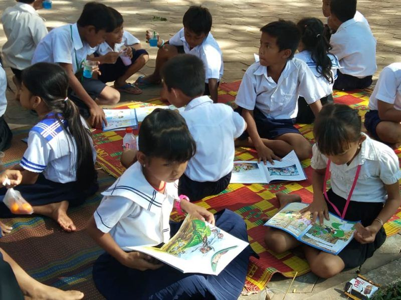 Cultivating the Reading Habit in Cambodia