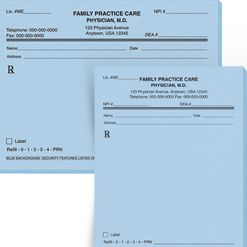 Rx Prescription Pads